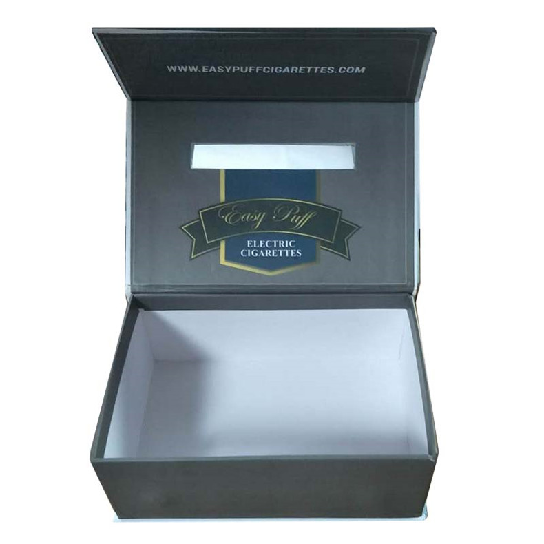 E-cigarette filter holder clamshell gift box