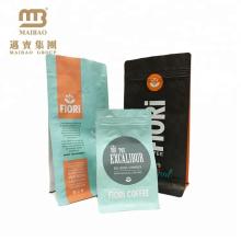 FDA-Zertifikat Nahrungsmittelgrad-Plastikgewohnheit druckte Aluminiumfolie-Kaffeepulver-Taschen