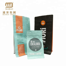 FDA сертификат качества еды пластичная таможня напечатала мешки кофе алюминиевой фольги мешки порошка