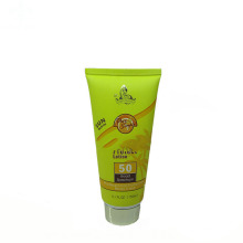 beautiful ladies tube for facial beauty skin cream