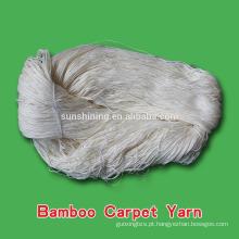 Fio de bambu para tapete