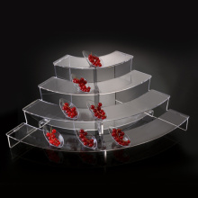 Elegante Perspex Food Displays, Acryl Buffet Display Riser