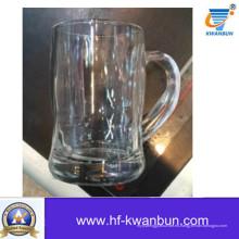 Taza de vidrio Taza de cerveza vaso Vid-Hn07170
