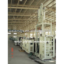 PE water pipe extrusion line