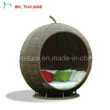 2016 meubles de patio Big Apple Sunbed pour jardin (S-3035)