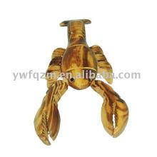 Langosta de decoración de animales de madera marca FQ