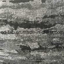 Fio de venda quente tingido de tecido jacquard preto (QF16-2512)
