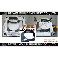 Plástico de la inyección del ventilador del radiador del molde de la envoltura del ventilador (molde-54)