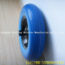 Carrinho de mão PU Solid Wheel 4.00-8