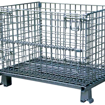 Welded Galvanized Metal Pallet Cages