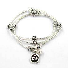 Bracelet en argent en acier inoxydable