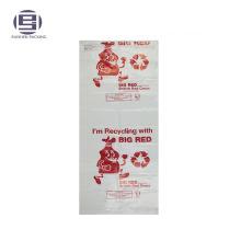 Bolsas de embalaje del portador de ropa de la caridad con la impresión