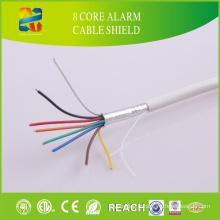 Câble d'alarme de sécurité 8 Core avec noyau de conducteur de cuivre nu