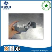 personalizar la máquina perfiladora de rieles de acero laminado en frío