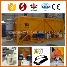 High Flexible Mobile Cement Silo Horizontal Cement Silo Concrete Cement Silo 30T 50T Customized