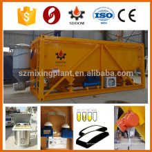 Silo de cimento móvel altamente flexível Silo horizontal Cimento Silo Cimento concreto Silo 30T 50T personalizado