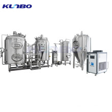 KUNBO 500L Electric Brewing System Brewery Equipment Plant