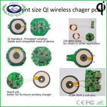 Shenzhen Factory Ce FCC RoHS Сертифицированное беспроводное зарядное устройство PCBA Accept Custom