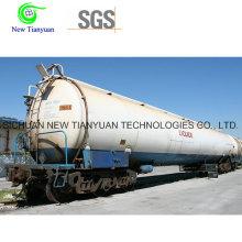 Tanque de tanque de presión criogénica de múltiples capas de alto vacío