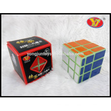 Los bloques populares del espejo de YongJun golpean la caja de color de papel de los cubos mágicos del cubo mágico