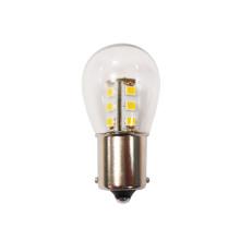 Lámpara de bayoneta de LED con cubierta de vidrio de 2W