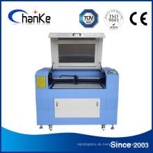 600X900mm 90W Papierlaserschneidmaschine Preis