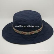 Chapeau de seau imprimé personnalisé en style 2016 fabriqué en Chine chapeau de seau de haute qualité