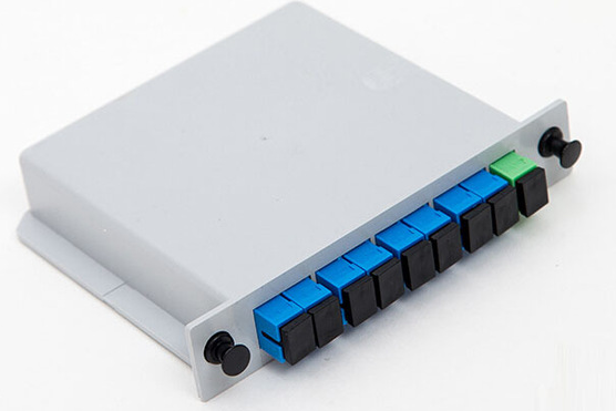 1 X 8 Fiber Optic Plc Splitter