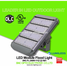 UL DLC Listed 240 Watt LED High Mast Flood Light with Mean Well HLG Driver