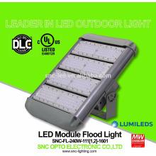 O UL DLC alistou a luz de inundação alta do mastro do diodo emissor de luz de 240 watts com o motorista bom do HLG do meio