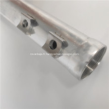 Véhicule électrique utilisé tube de stockage de liquide en aluminium sans soudure