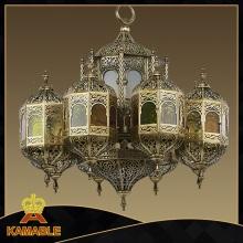 Arabic Style Brass Big Moroccan Chandelier (009)