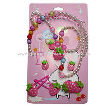 Children's Hair Accessories Set with Resin Accessories and Decoration, Various Colors are Available