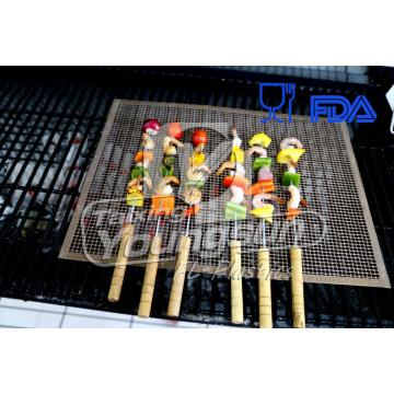 4 mm * 4 mm niet-stick Barbecue Mesh