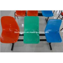 Стул пластиковый фаст-фуд три строки (CX-LH9024)