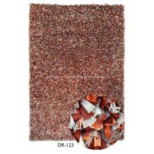 shaggy Fußbodenwolldecken Streifen