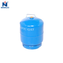 Tanque de GLP de Dominica, cilindro de gas portátil de 3 kg para barbacoa