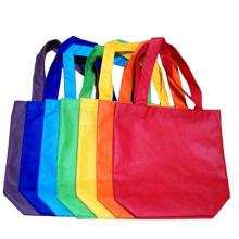Printed multi color packaging bag tote bags with custom printed logo