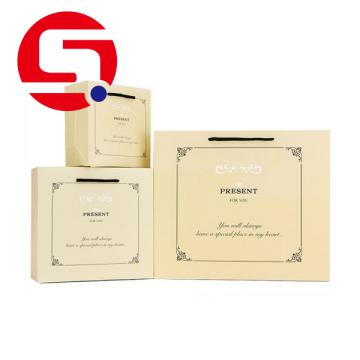 Custom Paper Merchandise Einkaufstaschen Großhandel