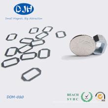 Small Size Sintered Racetrack Shape Neodymium Magnet NdFeB Magnet
