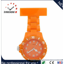 Unique Fashion Non-Silicone Pocket Plastic FOB Nurse Watch (DC-1152)