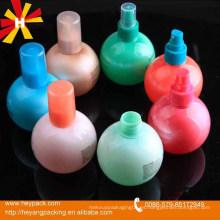 Botella redonda de plástico de 200 ml
