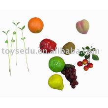 Искусственные пластиковые фрукты
