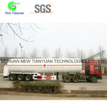 Ln2 Filling Media Crygenic Liquid Storage Semi Trailer