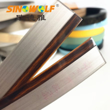 Hot Sale for for Double Color Edge Banding Acrylic Edge Banding 3D Woodgrain Edge Tapes export to United States Exporter