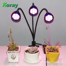 Easy to adjust and place Clip Grow Light for indoor family and office