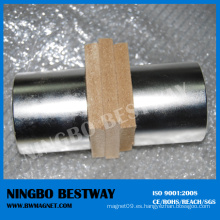 Imán de neodimio súper fuerte de cilindro delgado