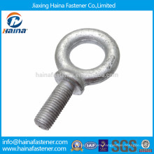 High quality carbon steel Hot Dip Galvanised eye bolt