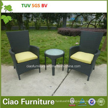 Leisure Garden Furniture Wicker Modern Outdoor Rattan Table and Chair