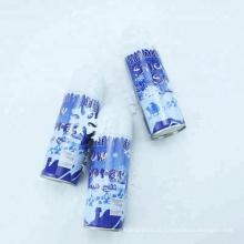 цветные брызги снега